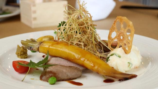 Nagomi's Duck Dish Reviewd by SA Weekend Simon Wilkinson